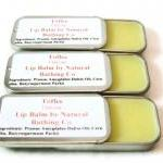 Toffee Lip Balm Tin Natural Flavor..